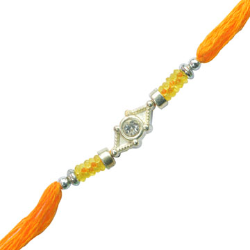 -Metal Dimanod Rakhi,Send Rakhi online,send rakhi,online send rakhi,rakhi to india,send rakhi to india,rakhi shop india