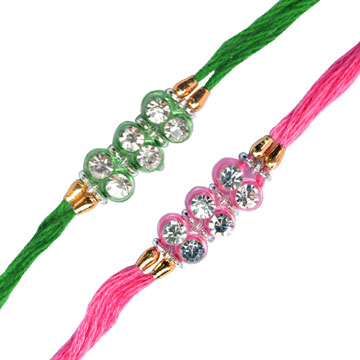 -3 Diamond 2 Rakhi Set,Send Rakhi online,send rakhi,online send rakhi,rakhi to india,send rakhi to india,rakhi shop india
