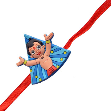-Chota Bheem Triangle Kids Rakhi,Send Rakhi online,send rakhi,online send rakhi,rakhi to india,send rakhi to india,rakhi shop india