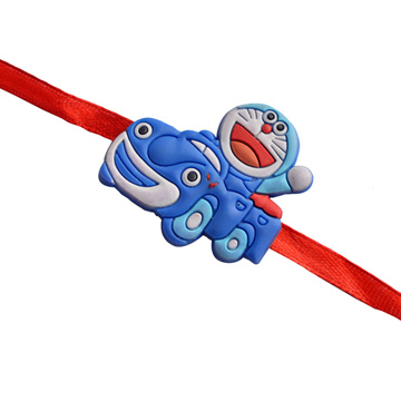 Kids Rakhi-DORAEMON CAR KIDS RAKHI,Send Rakhi online,send rakhi,online send rakhi,rakhi to india,send rakhi to india,rakhi shop india
