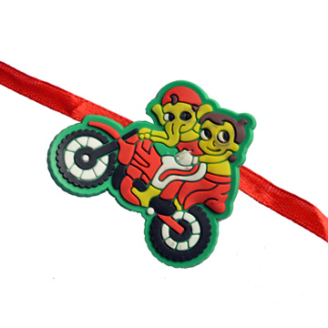 -GANESH Bhim Bike KIDS RAKHI,Send Rakhi online,send rakhi,online send rakhi,rakhi to india,send rakhi to india,rakhi shop india