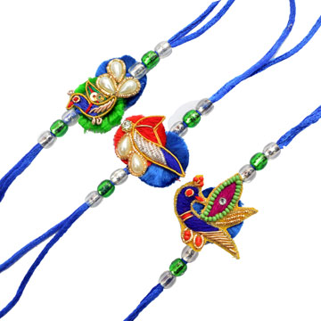 -3 Rakhi Set,Send Rakhi online,send rakhi,online send rakhi,rakhi to india,send rakhi to india,rakhi shop india