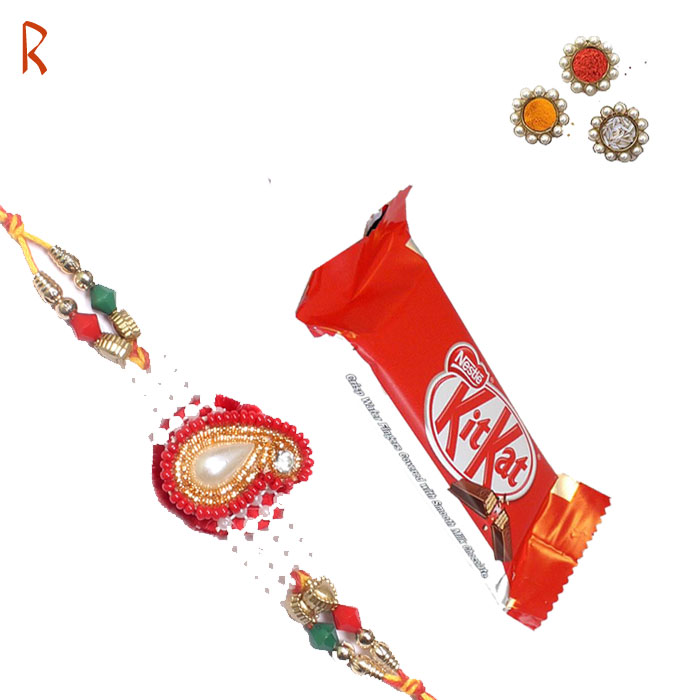 -Excellent Design Chocolate Rakhi ,Send Rakhi online,send rakhi,online send rakhi,rakhi to india,send rakhi to india,rakhi shop india