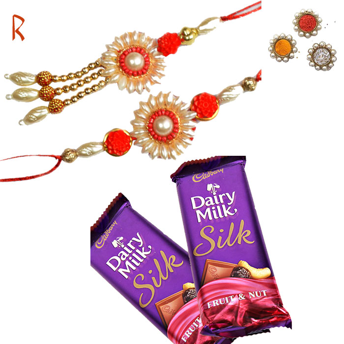 Rakhi With Chocolates-Bhaiya Bhabhi Rakhi to USA with Chocolates- Rakhi Shop India ,Send Rakhi Online to Brother,Buy Rakhi for Brother,Buy Rakhi Online,Rakhi Shop India,Rakhishopindia