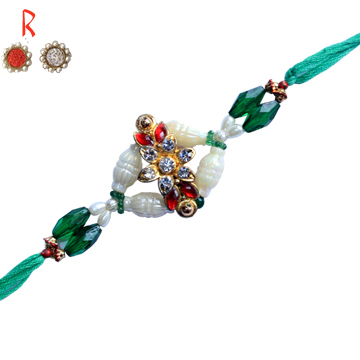 -Eye Catching Flower Rakhi for Bhaiya,Send Rakhi online,send rakhi,online send rakhi,rakhi to india,send rakhi to india,rakhi shop india