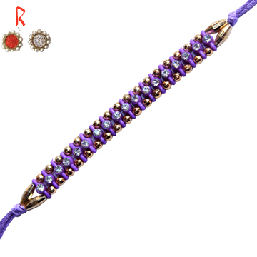 -Sparkling Blue Pearl Diamond Touch Designer Rakhi,Send Rakhi online,send rakhi,online send rakhi,rakhi to india,send rakhi to india,rakhi shop india