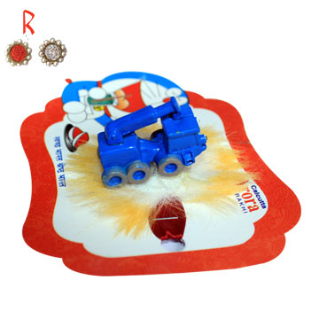 -Tank Kid Rakhi with Toy,Send Rakhi online,send rakhi,online send rakhi,rakhi to india,send rakhi to india,rakhi shop india