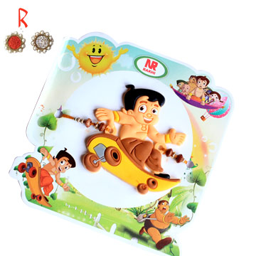 -Naughty Chota Bhim Rakhi for Kids,Send Rakhi online,send rakhi,online send rakhi,rakhi to india,send rakhi to india,rakhi shop india