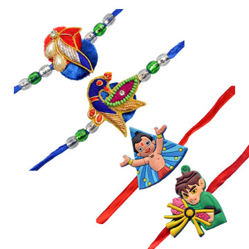 -2 Borther 2 Kids Rakhi Set,Send Rakhi online,send rakhi,online send rakhi,rakhi to india,send rakhi to india,rakhi shop india