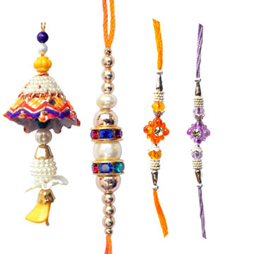 -Family Rakhi Set ,Send Rakhi online,send rakhi,online send rakhi,rakhi to india,send rakhi to india,rakhi shop india