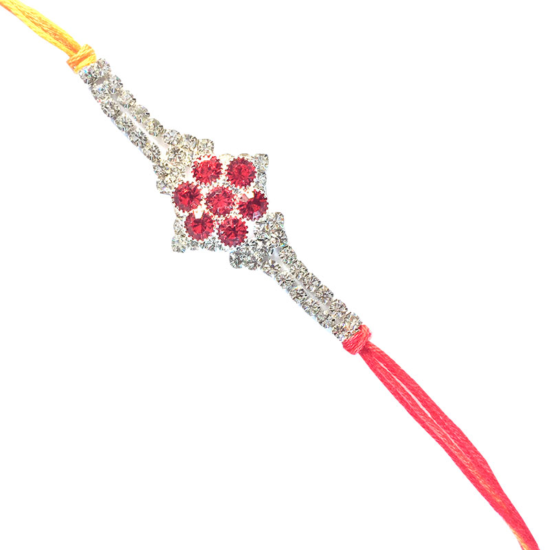 Diamond Rakhi-pure designer Rakhi,Send Rakhi online,send rakhi,online send rakhi,rakhi to india,send rakhi to india,rakhi shop india