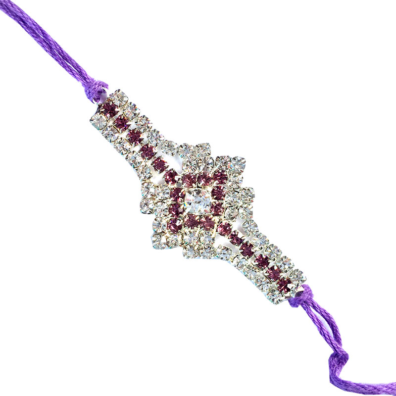 Send Rakhi Online-Zizzag dazzling Rakhi,Send Rakhi online,send rakhi,online send rakhi,rakhi to india,send rakhi to india,rakhi shop india