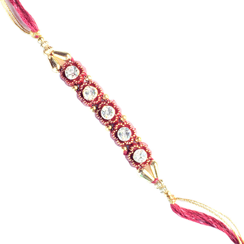 Bhai Rakhi-Stone Work Designer Rakhi,Send Rakhi online,send rakhi,online send rakhi,rakhi to india,send rakhi to india,rakhi shop india