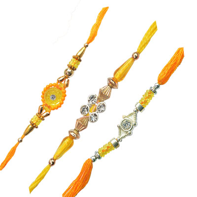 -3 Rakhi Set for India,Send Rakhi online,send rakhi,online send rakhi,rakhi to india,send rakhi to india,rakhi shop india