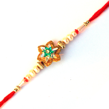 Threads Rakhi-Flower Rakhi for kidsand bhai,Send Rakhi online,send rakhi,online send rakhi,rakhi to india,send rakhi to india,rakhi shop india