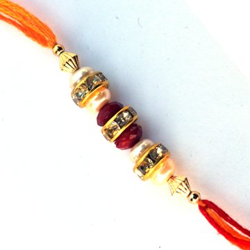 Threads Rakhi-Clasic Rakhi With Dimand,Send Rakhi online,send rakhi,online send rakhi,rakhi to india,send rakhi to india,rakhi shop india