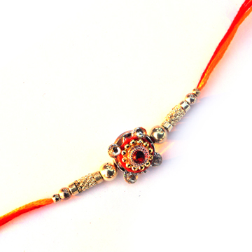 -Beautiful Design Metal Look Rakhi,Send Rakhi online,send rakhi,online send rakhi,rakhi to india,send rakhi to india,rakhi shop india