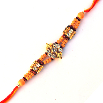 -Exclusive Stylish Diamond Rakhi,Send Rakhi online,send rakhi,online send rakhi,rakhi to india,send rakhi to india,rakhi shop india