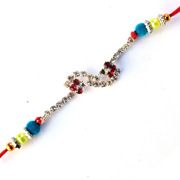-High Sparkler Diamond Rakhi,Send Rakhi online,send rakhi,online send rakhi,rakhi to india,send rakhi to india,rakhi shop india