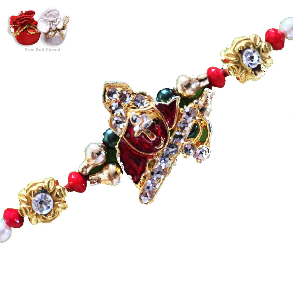 God Rakhi-Lord Krishna Rakhi,Send Rakhi online,send rakhi,online send rakhi,rakhi to india,send rakhi to india,rakhi shop india