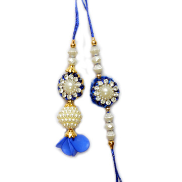 -Sparkling Diamond Pair Rakhi,Send Rakhi online,send rakhi,online send rakhi,rakhi to india,send rakhi to india,rakhi shop india